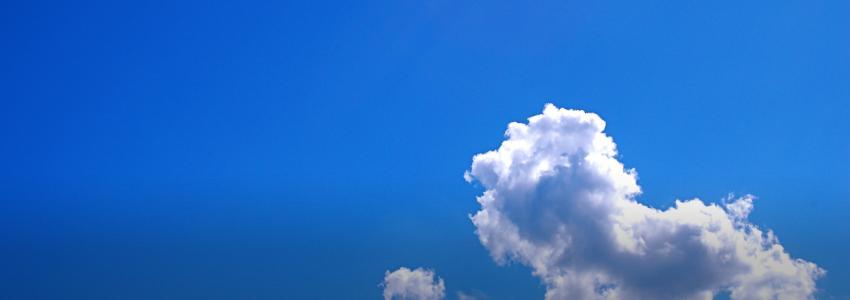 Weersvoorspellingen, een heldere hemel