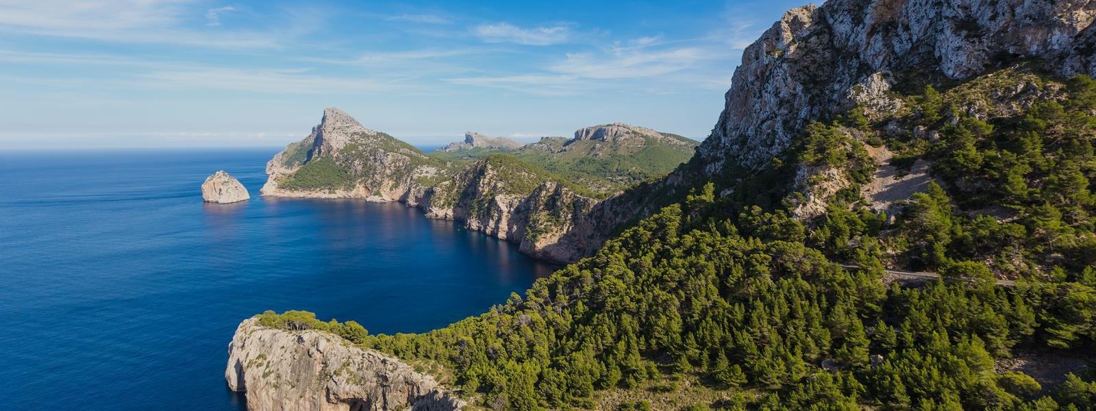 Prachtige natuur in de Balearen