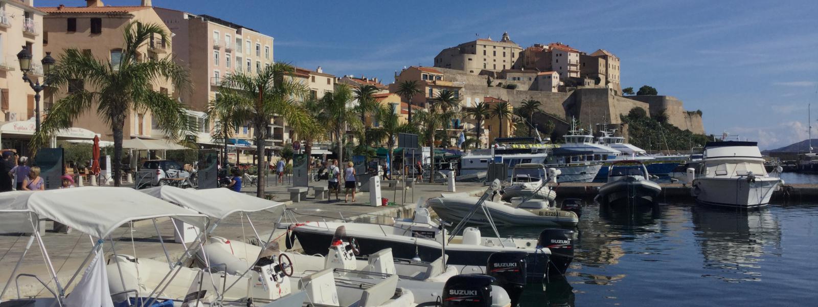 Calvi, het Knokke van Corsica