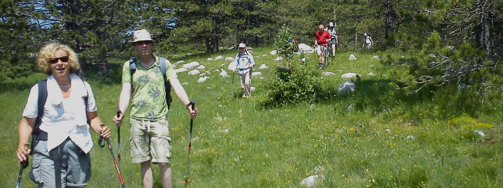 wandelen in Servië - Bosnië