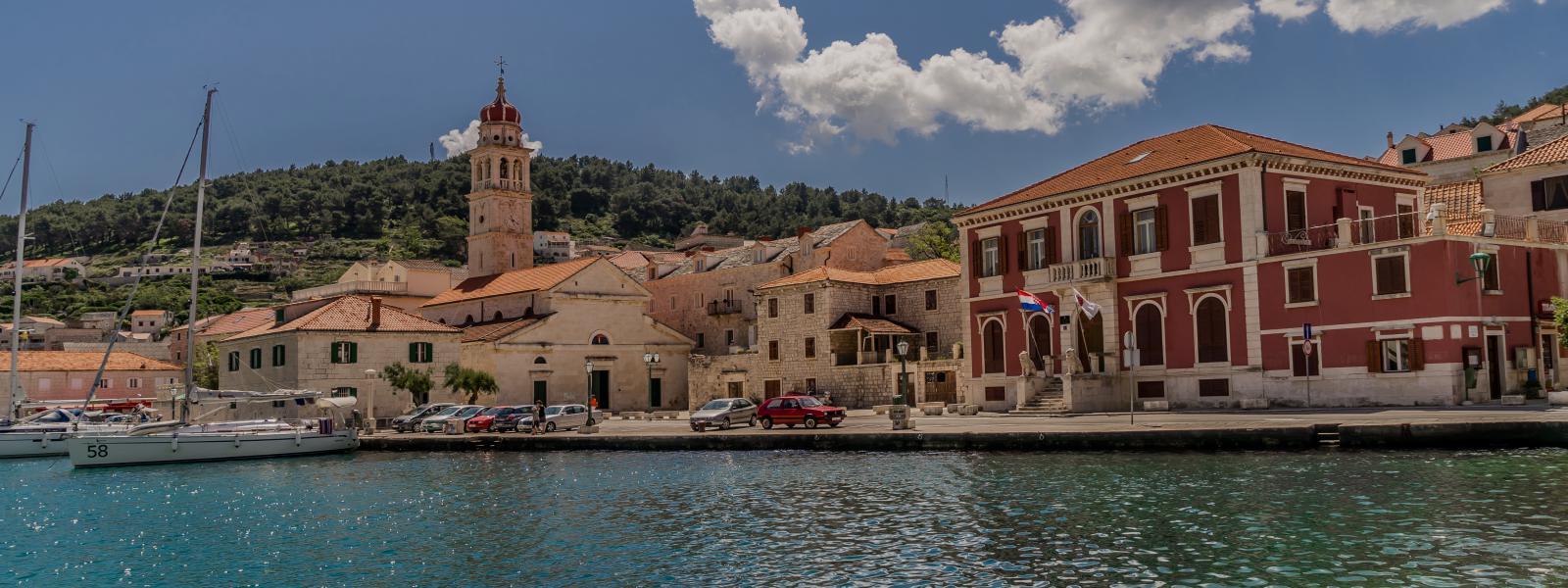 aankomst in Split