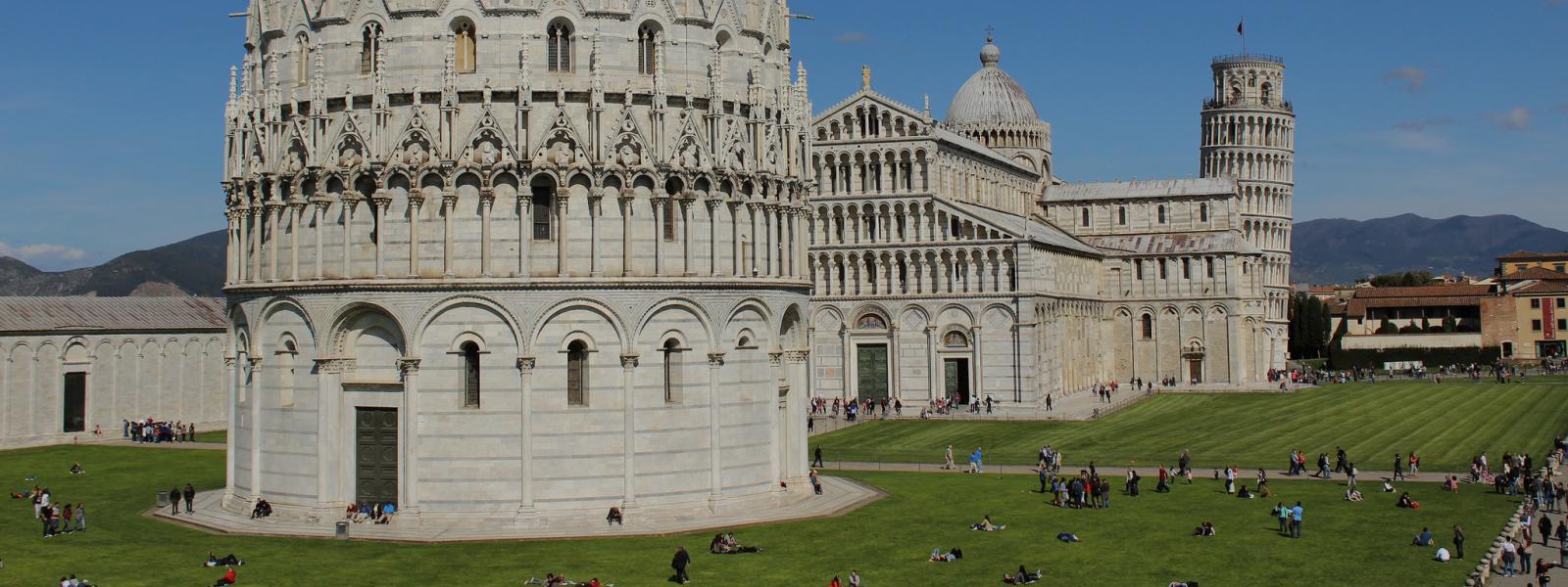 Pisa in Toscanië, Italië