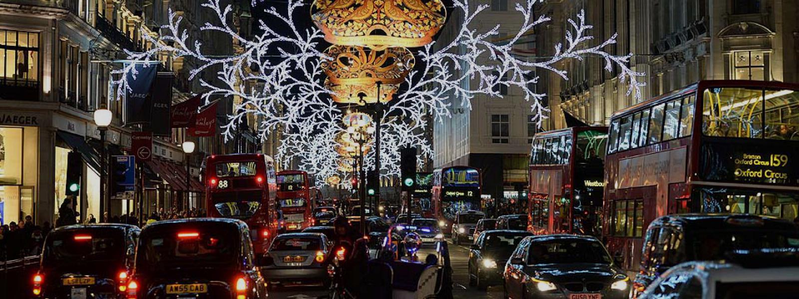 Oxford street kerstmarkt