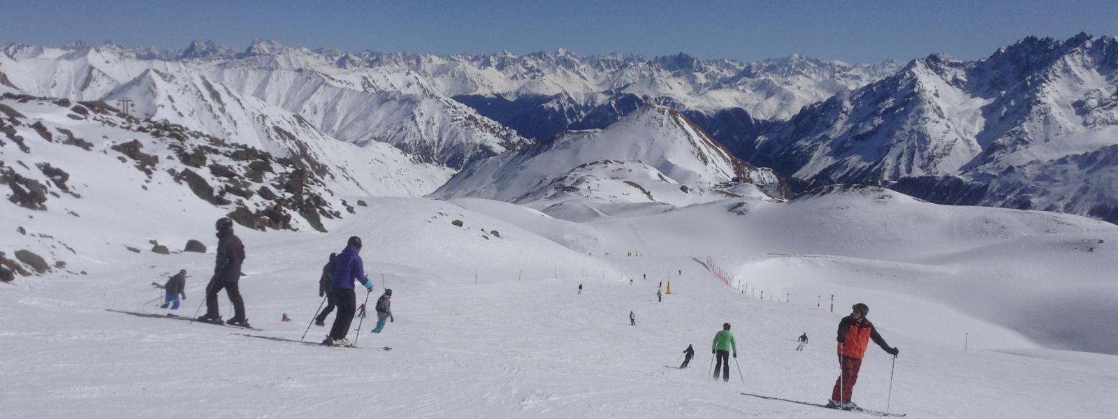 skieën in Ischgl