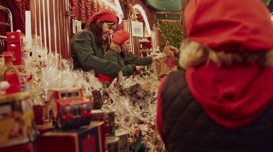 Keulen kerstmarkt De Globetrotter