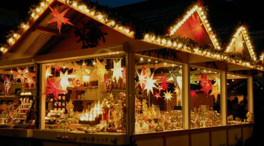 Londen kerstmarkten