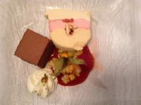 Lekker desser in Royal palace