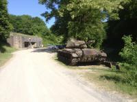 Tanks aan de Maginot Linie