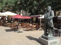 Montpellier- gezellige terrasjes