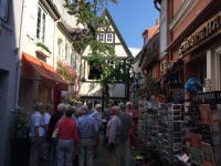 De pittoreske straatjes in Bremen