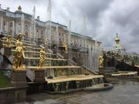 Fonteinen Pedrovoredz- Paleis - Sint- Petersburg