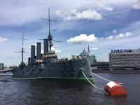 Pantser cruiser Aurore Sint - Petersburg