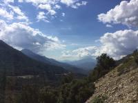 mooie vergezichten onderweg naar Ajaccio - de stad van Napoleon