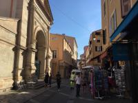 winkelstraat in Ajaccio