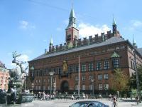 stadhuis in Kopenhagen- Denemarken