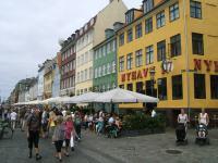 uitgangsbuurt Nyhavn in Kopenhagen
