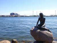 zeemeermin in Kopenhagen