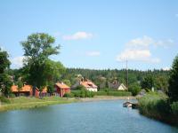 Langs het Götakanaal in Zweden