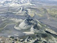 Kafla krater in Ijsland