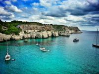 Menorca - kliffen