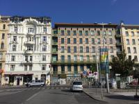 Prachtige Art Nouveau gevels in Wenen