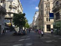 centrum winkelstraat Wenen