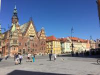 stadsplein Wroclaw