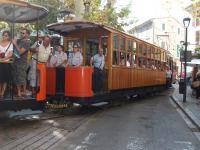 Het trammetje in Soler
