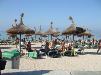 Het strand in Mallorca