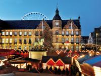 Kerstmarkt Dusseldorf - Glühwein
