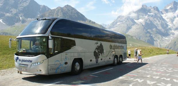 Comfortabele bussen bij Reizen De Globetrotter