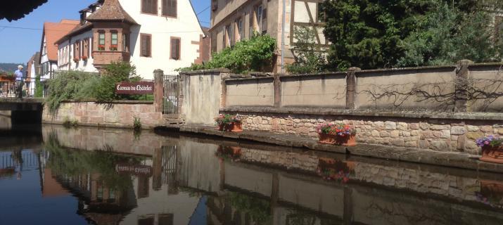 Schilderachtig Wissembourg, De Elzas