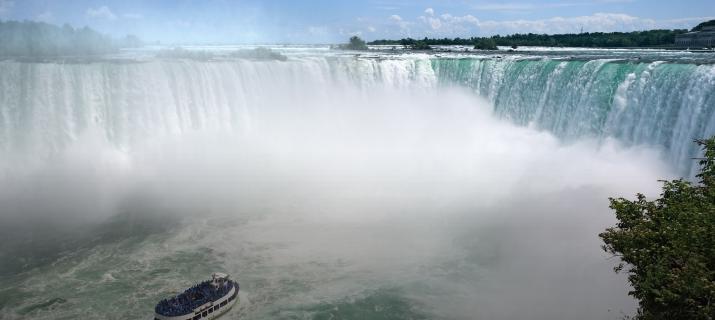 indrukwekkende watervallen Canada