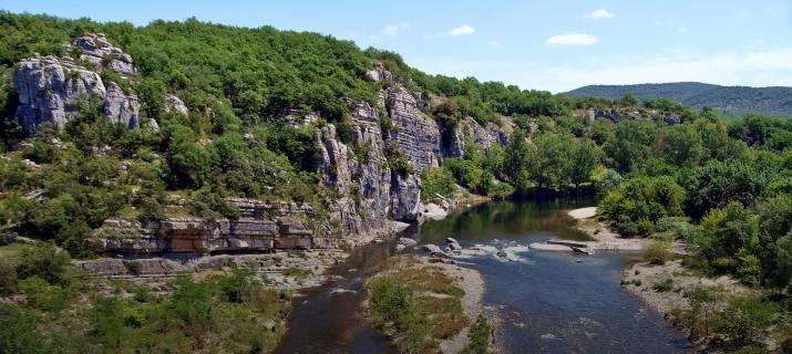 Ardèche rivieren
