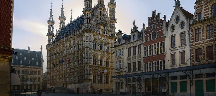Grote Markt - stadhuis Leuven