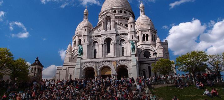 Montmartre -Parijs