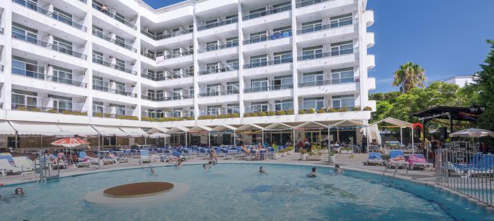 Hotel Olympus Palace -  Salou - Reizen De Globetrotter