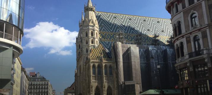 Stehansdom - Wien - centrum - deglobetrotter Wenen