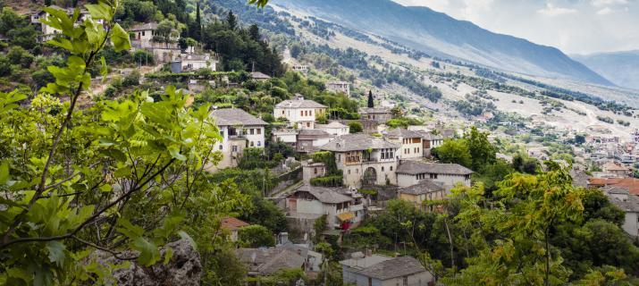 mace donië Albanië - Gebergte - idylische dorpjes