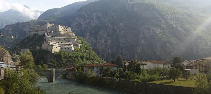 Fort Bard in Valle d'Aosta